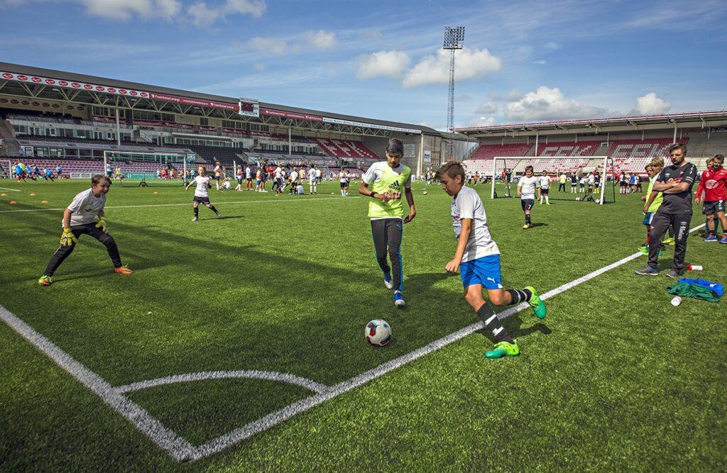 Fotball banefordeling